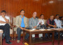 UML Leader Nepal addressing the interaction program. Photo: RSS