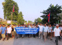 A rally organized in Jhapa district opposing the India's interference in internal affairs of Nepal. (RSS)