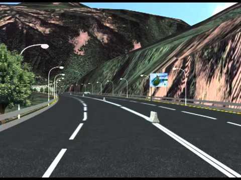 3D image of proposed Kathmandu-Tarai fast track.