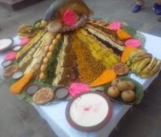 Samaybaji prepared by Ganga Club on the occasion of Indra Jatra Festival, the festival of rain god.