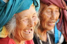 elderly people Nepal