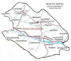 map of dang