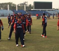 Nepali U 19 Cricket Players