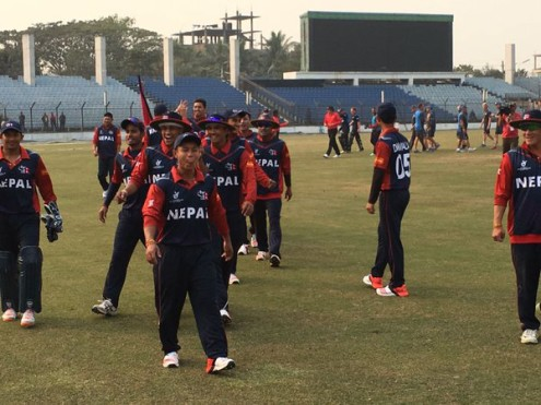 Nepali U 19 Cricket Players