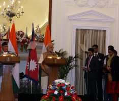 PM of Nepal and India