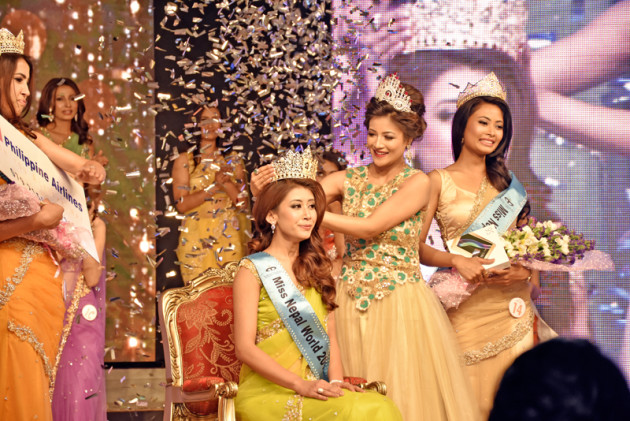 File Photo of Miss Nepal Competition