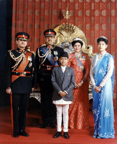 Birendra Family
