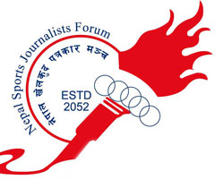 Logo of Nepal Sports Journalist Forum