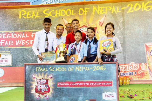 Third regional final, Real School