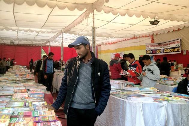 Book exhibition in Bhrikutimandap