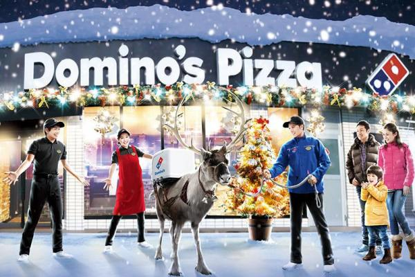 dominos-testing-out-pizza-delivery-by-reindeer-in-japan