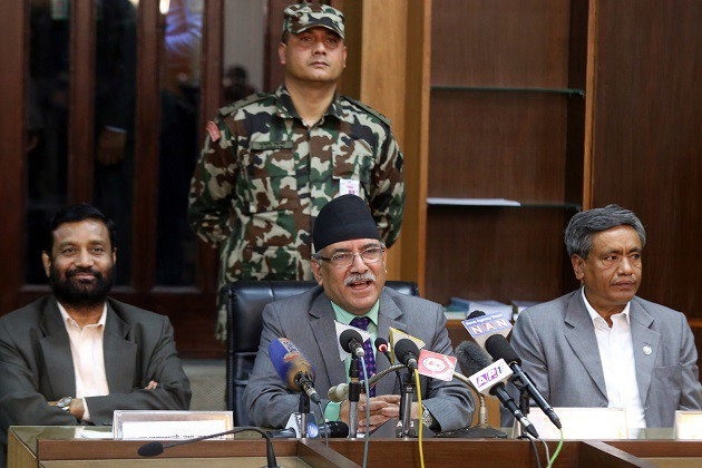 pm-dahal-address