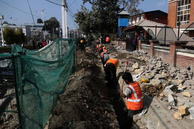 Melamchi Drinking Water Project pipeline