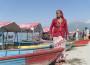 File: Nepali woman row against discrimination at Phewa Lake in Pokhara. Photo: Reuters