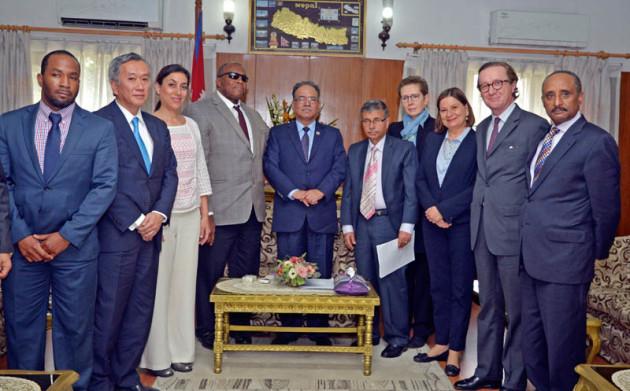 UN-deligation-meets-PM-Pushpa-Kamal-Dahal