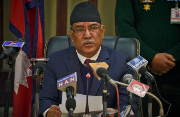 Prachanda Address for Resignation