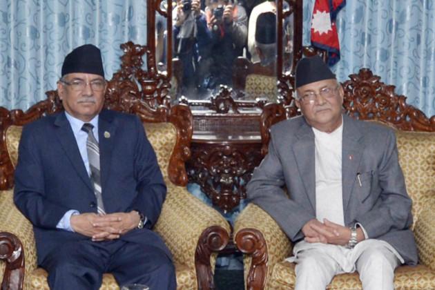 Pushpa-Kamal-Dahal-and-KP-Sharma-Oli
