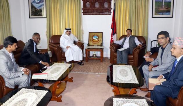 Mahara-and-Qatari-Ambasador