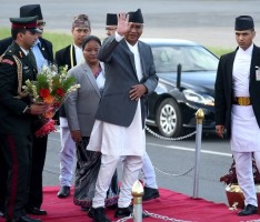PM Deuwa Leaving for New York
