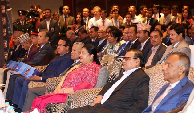 NRNA 8th Global Conference, President Bidya Devi Bhandari, DPM K