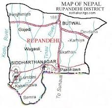 Map of Rupandehi