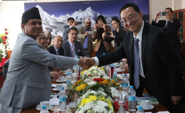 Chinese and Nepali Culture Minister