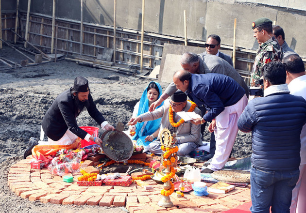 Dharahara reconstruction